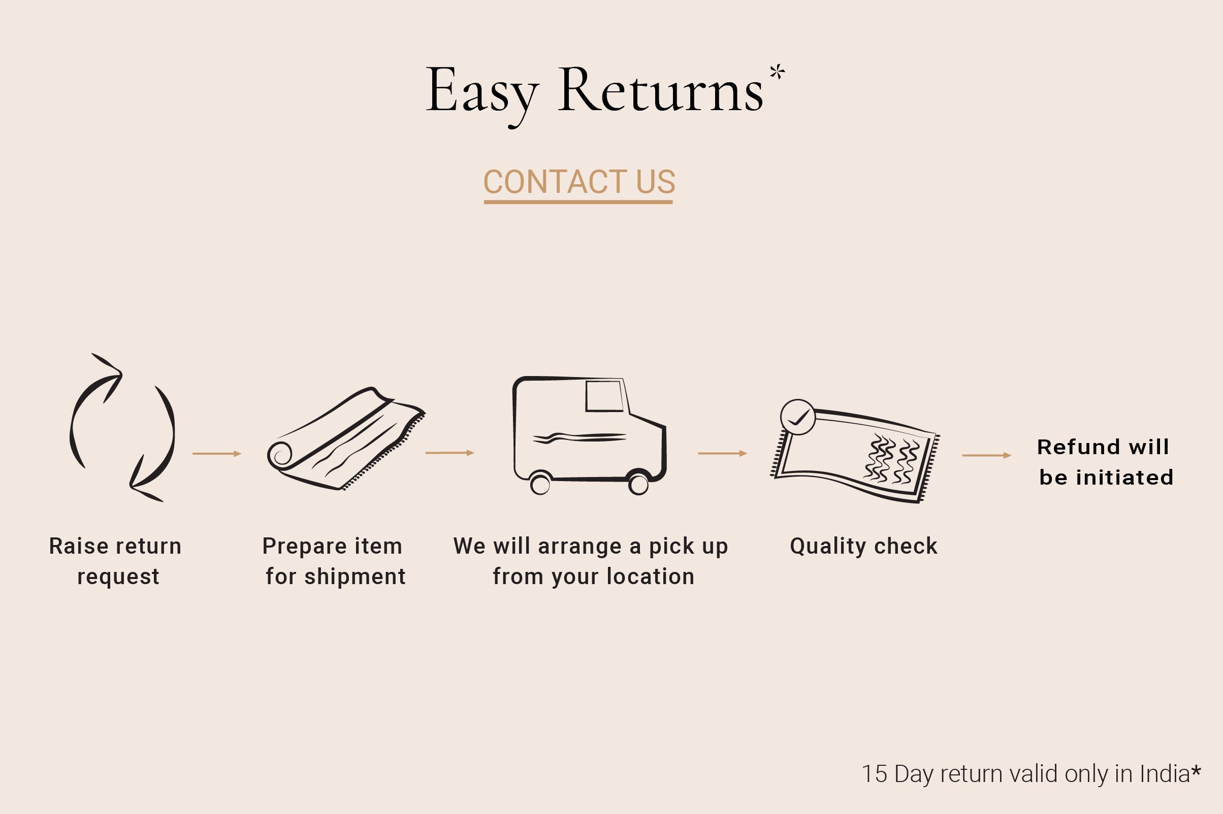 easy return banner