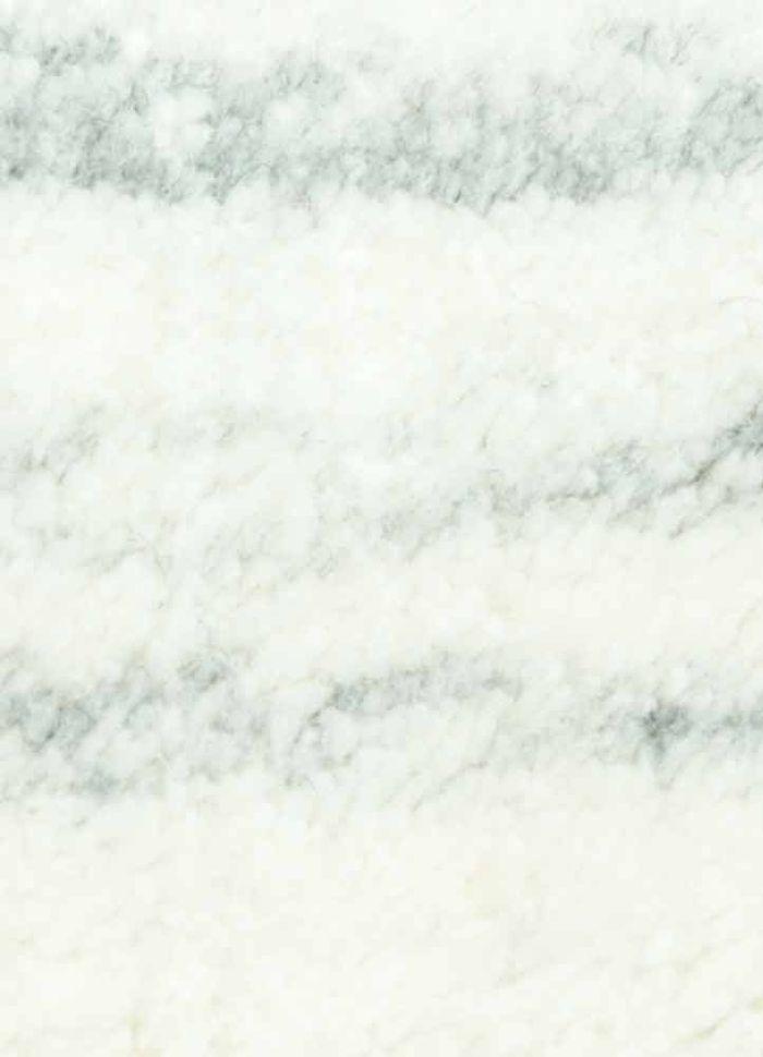 basis ivory wool and viscose hand loom Rug - CloseUp