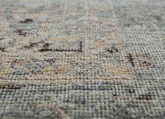 viscaya pink and purple wool hand knotted Rug - CloseUp