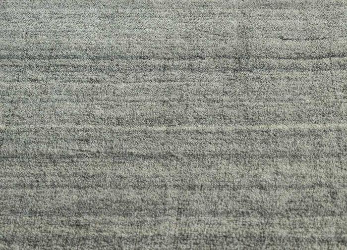 eron beige and brown wool hand loom Rug - CloseUp