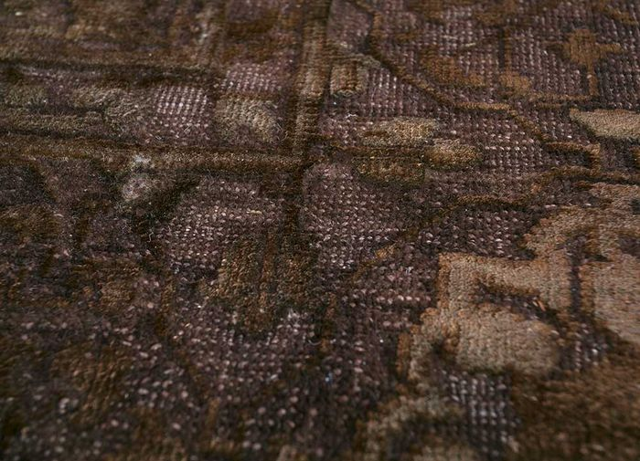 lacuna multi wool and silk hand knotted Rug - CloseUp