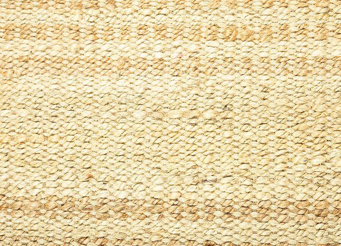 abrash ivory jute and hemp flat weaves Rug - CloseUp