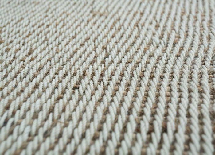 abrash beige and brown others flat weaves Rug - CloseUp