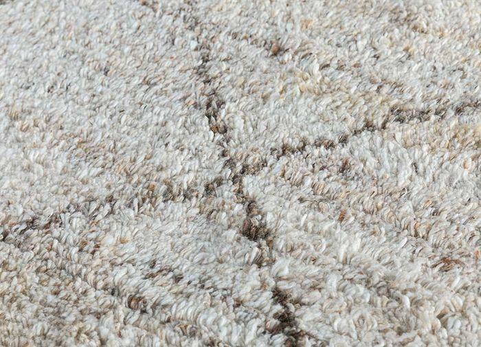 nadia ivory others hand knotted Rug - CloseUp
