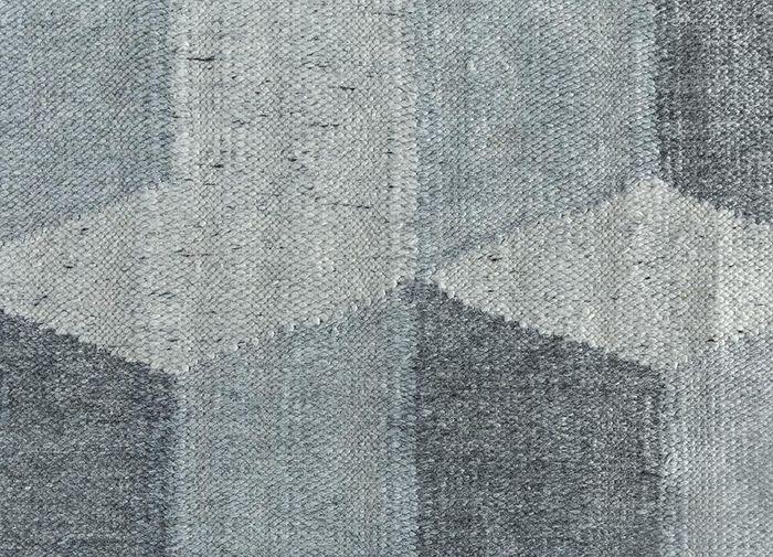 anatolia blue others flat weaves Rug - CloseUp