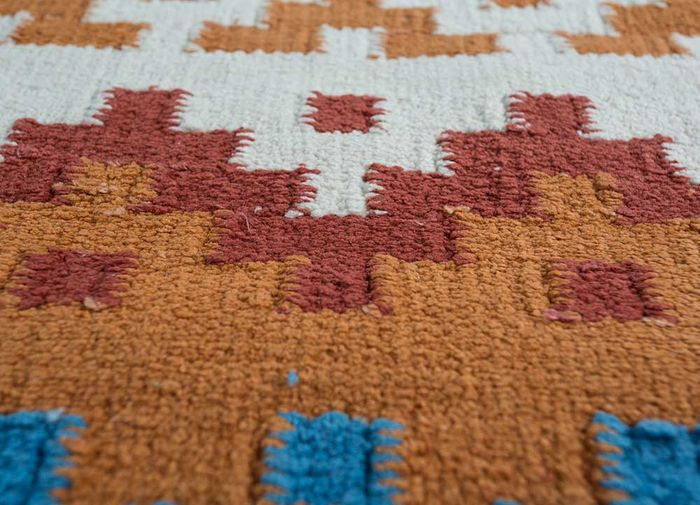 heritage ivory others flat weaves Rug - CloseUp