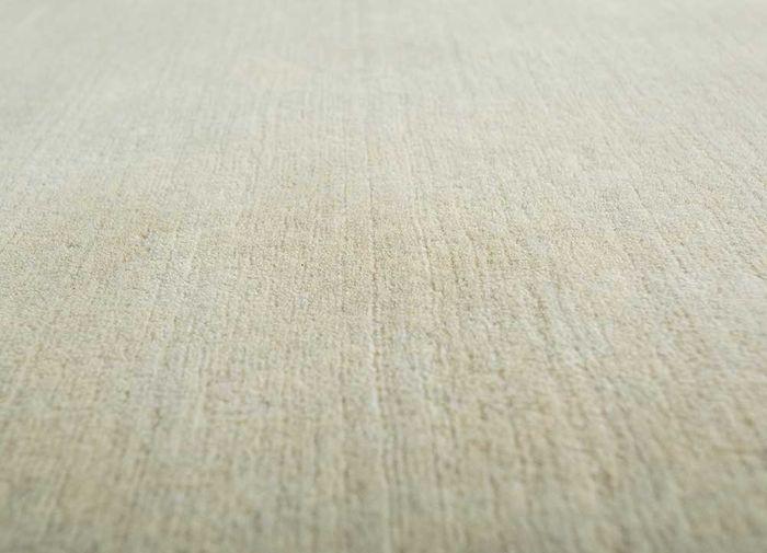 eron ivory wool hand loom Rug - CloseUp