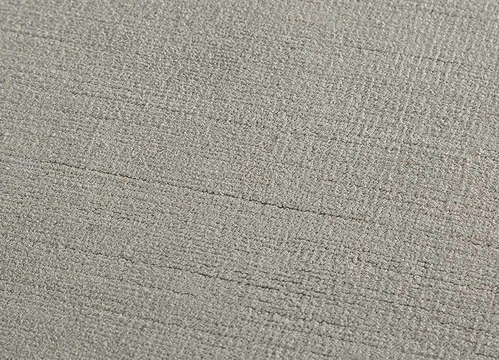 eron grey and black others hand loom Rug - CloseUp