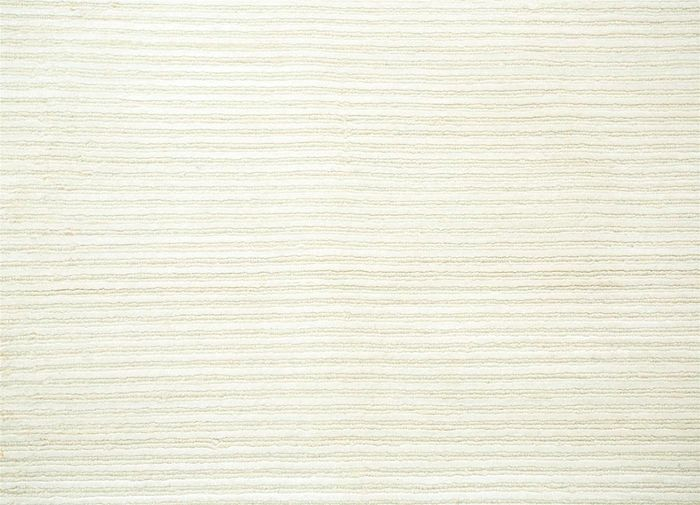 legion ivory wool and viscose hand knotted Rug - CloseUp