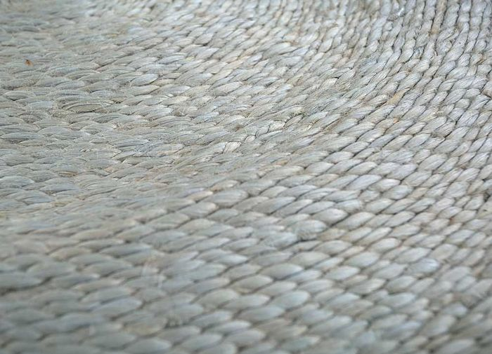 anatolia grey and black jute and hemp flat weaves Rug - CloseUp