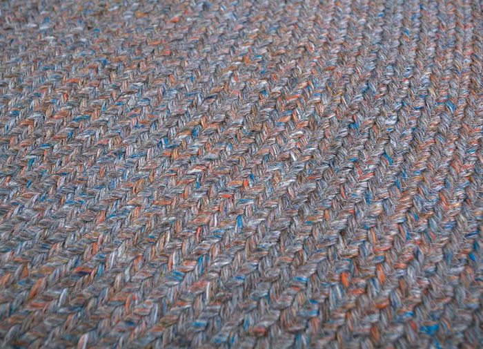 abrash pink and purple others flat weaves Rug - CloseUp