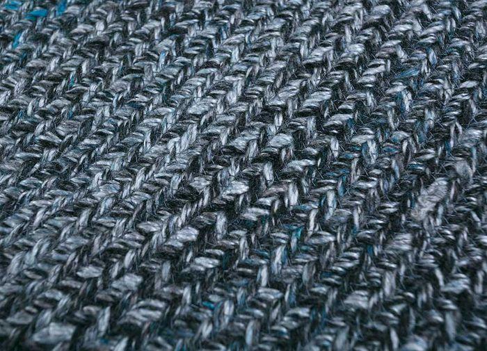 abrash blue others flat weaves Rug - CloseUp
