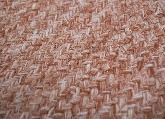 abrash red and orange others flat weaves Rug - CloseUp