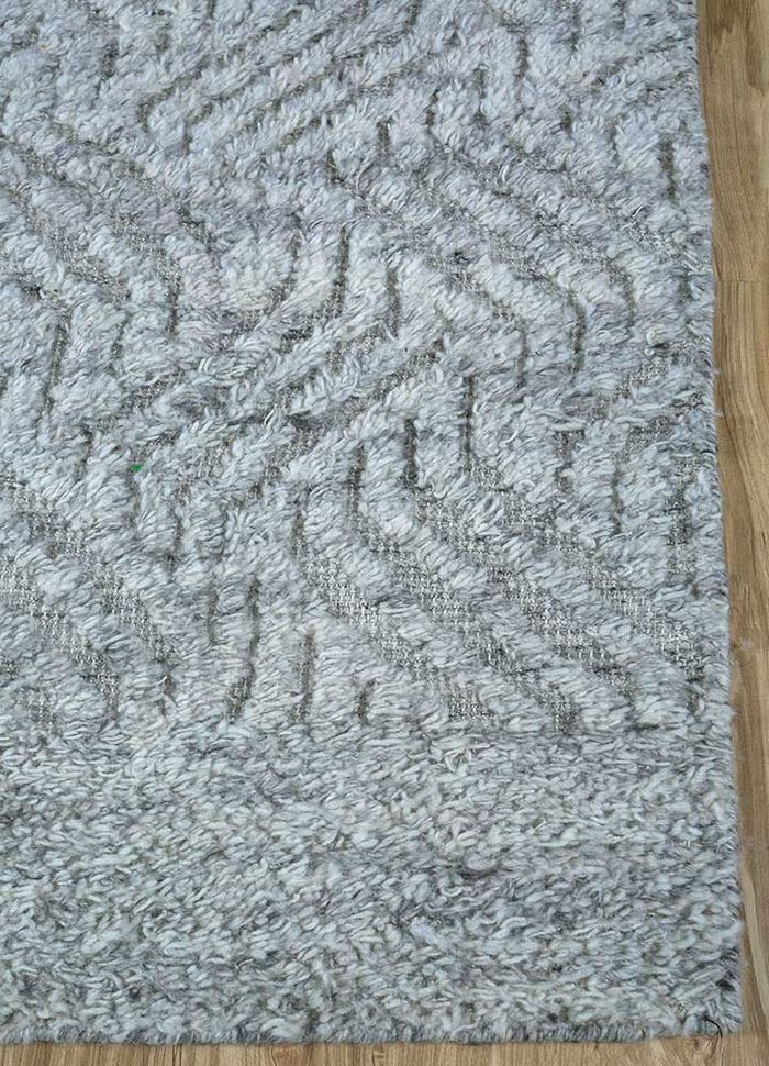 cleo beige and brown others hand knotted Rug - Corner