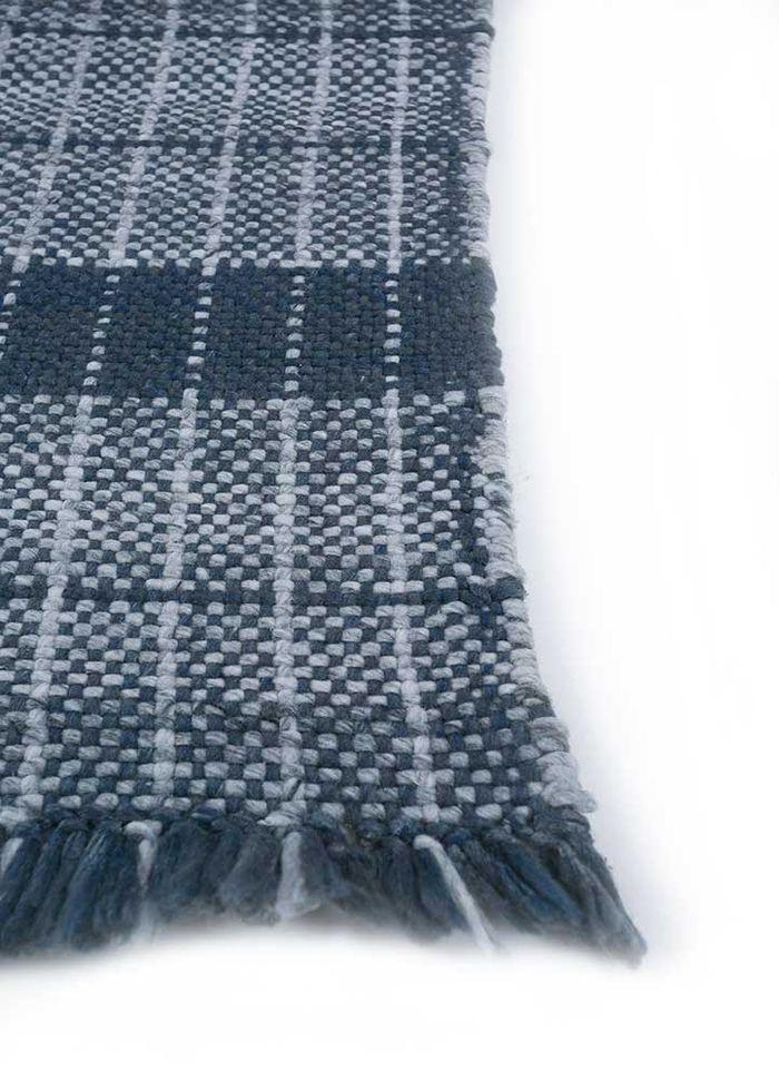 anatolia blue others flat weaves Rug - Corner