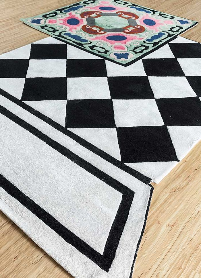 concoction ivory wool and viscose hand tufted Rug - FloorShot