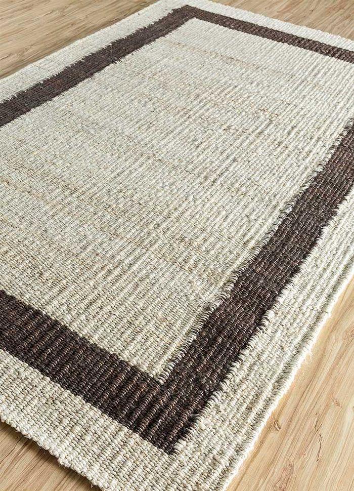 anatolia ivory jute and hemp flat weaves Rug - FloorShot