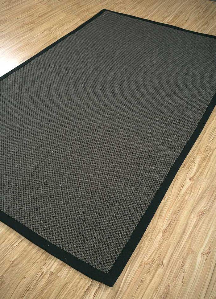 abrash grey and black others flat weaves Rug - FloorShot