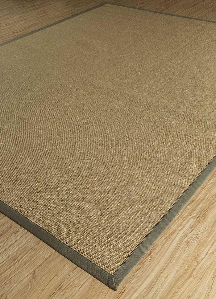 abrash beige and brown others flat weaves Rug - FloorShot