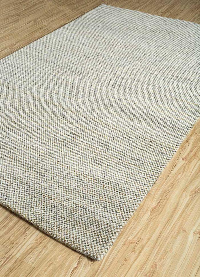 graze gold wool hand loom Rug - FloorShot