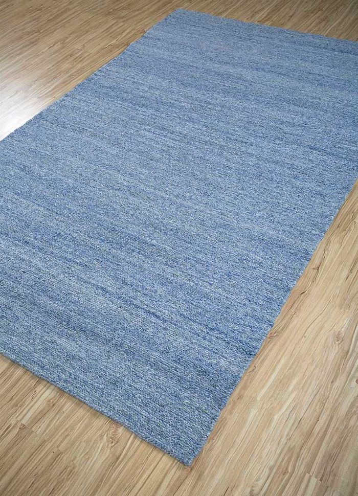 liberty blue others hand knotted Rug - FloorShot
