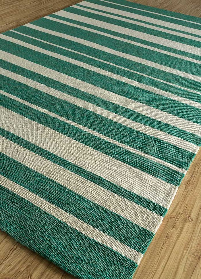 traverse green others hand tufted Rug - FloorShot