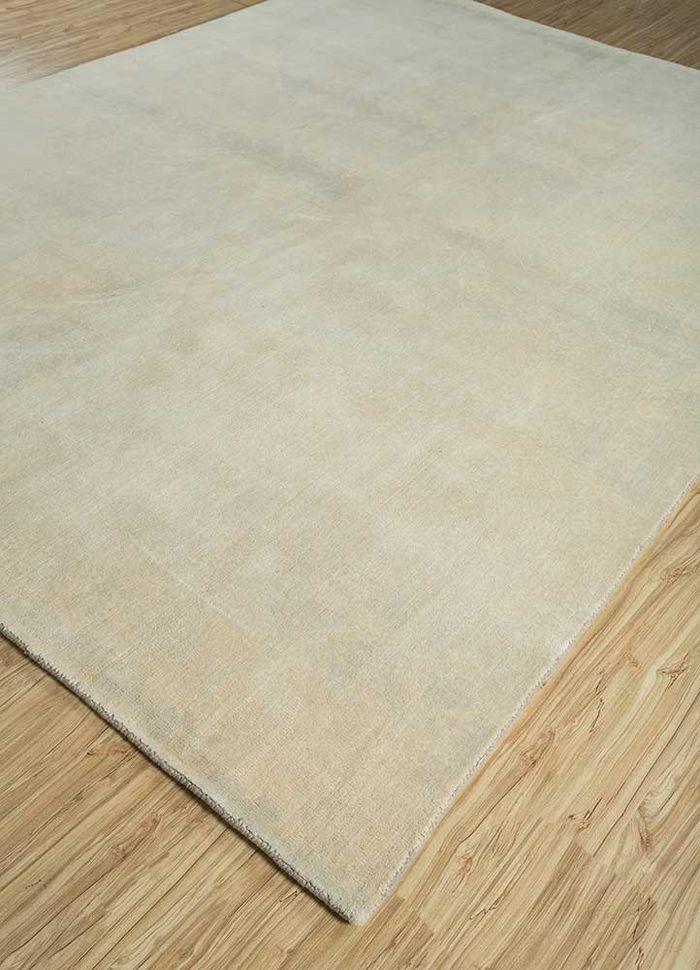 eron ivory wool hand loom Rug - FloorShot