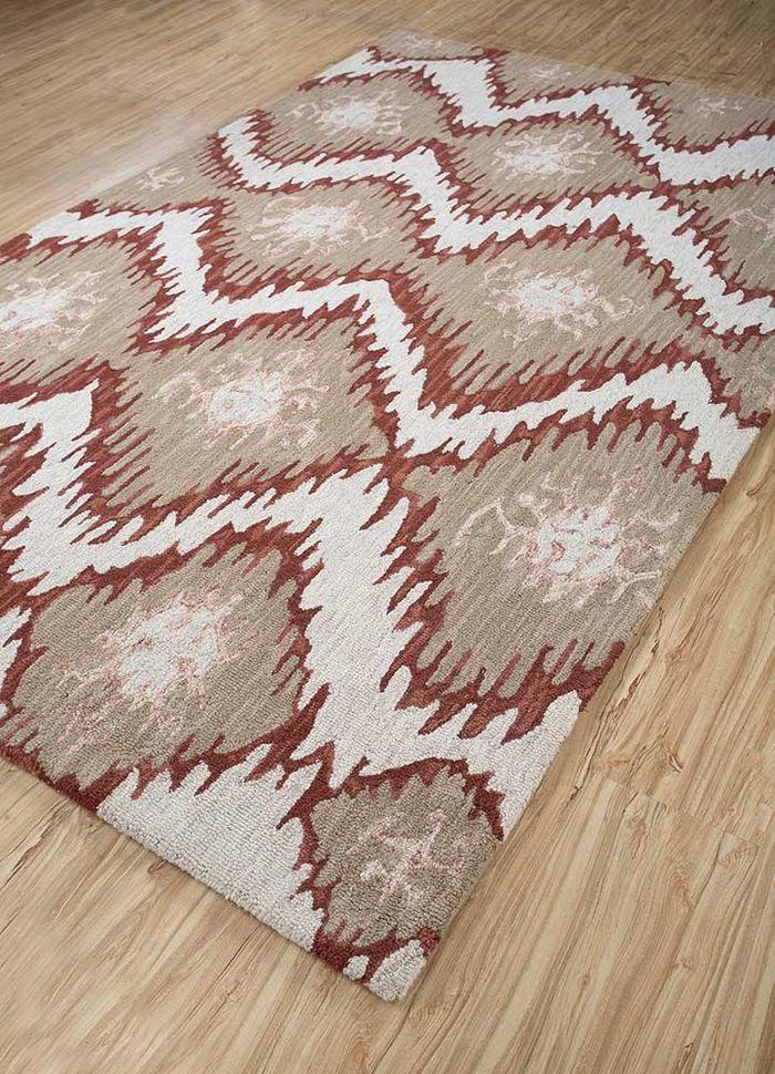 kilan ivory wool hand tufted Rug - FloorShot