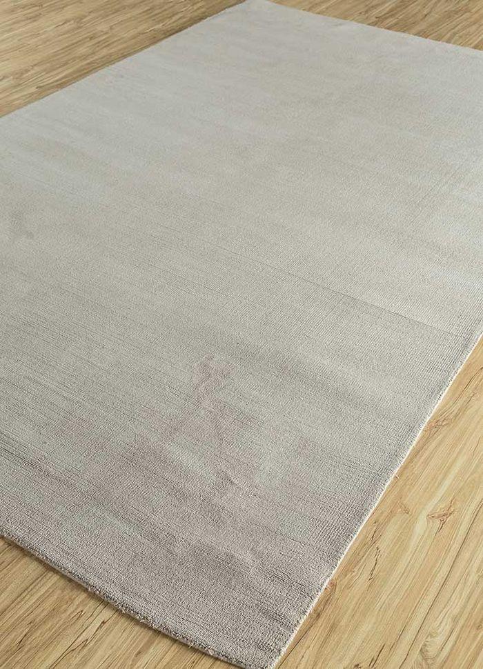 eron grey and black others hand loom Rug - FloorShot