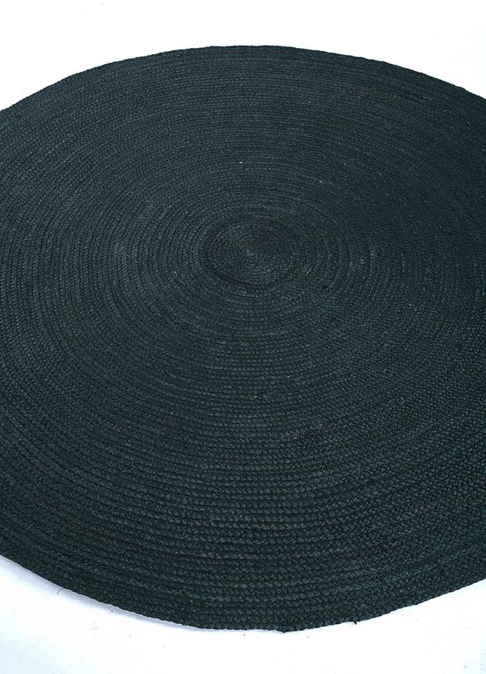 anatolia grey and black jute and hemp flat weaves Rug - FloorShot
