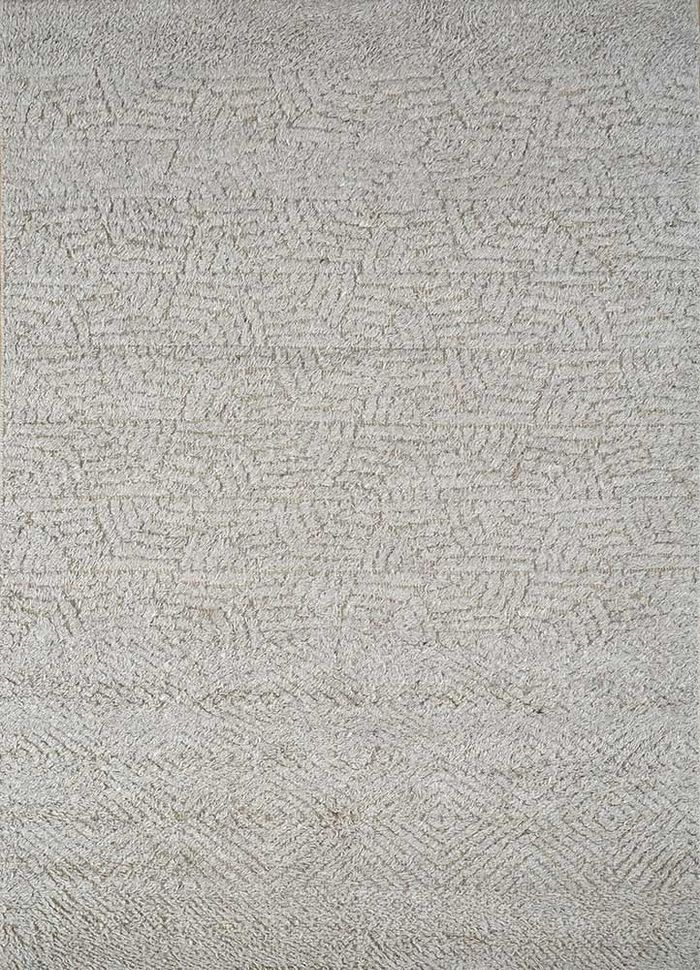 cleo beige and brown others hand knotted Rug - HeadShot