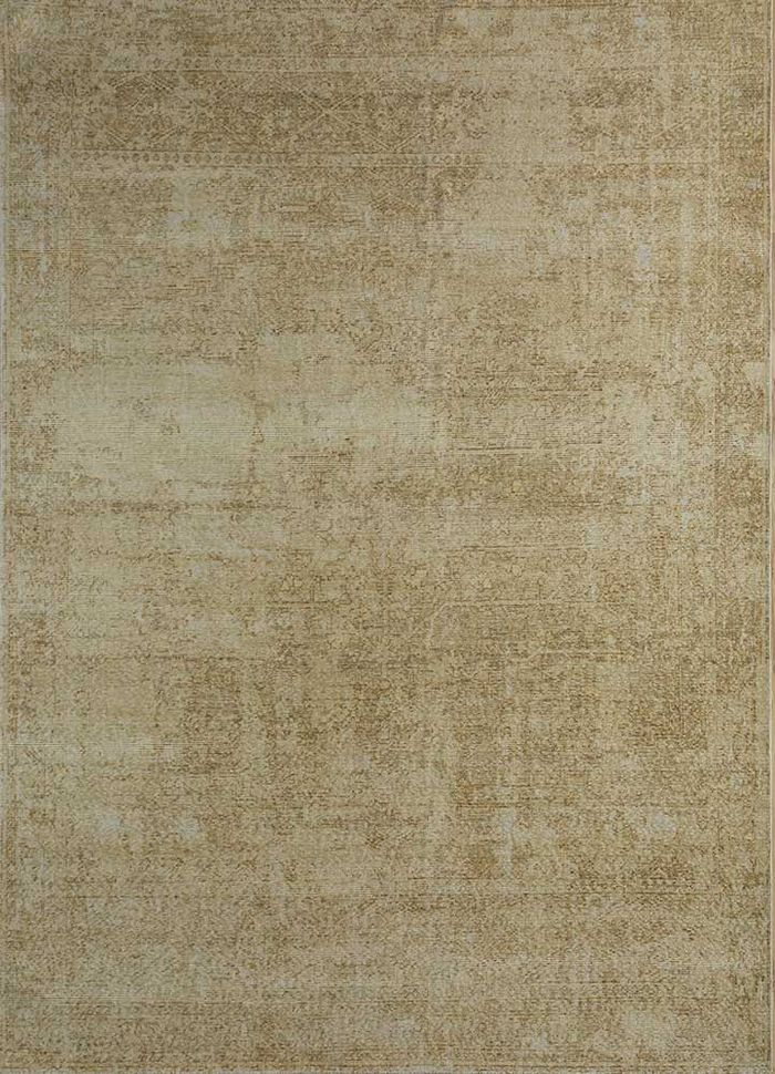 revolution green wool hand knotted Rug - HeadShot