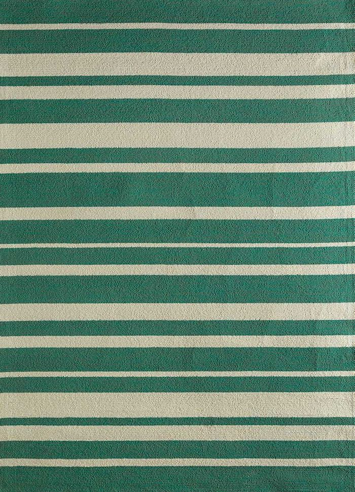 traverse green others hand tufted Rug - HeadShot