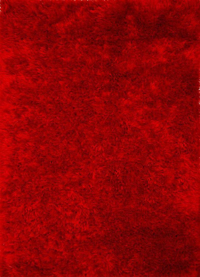 nadia red and orange others shag Rug - HeadShot