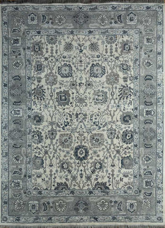 biscayne ivory others hand knotted Rug - HeadShot