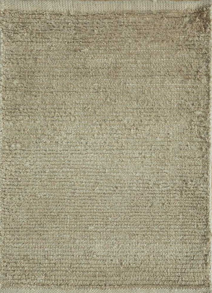 legion beige and brown linen hand knotted Rug - HeadShot