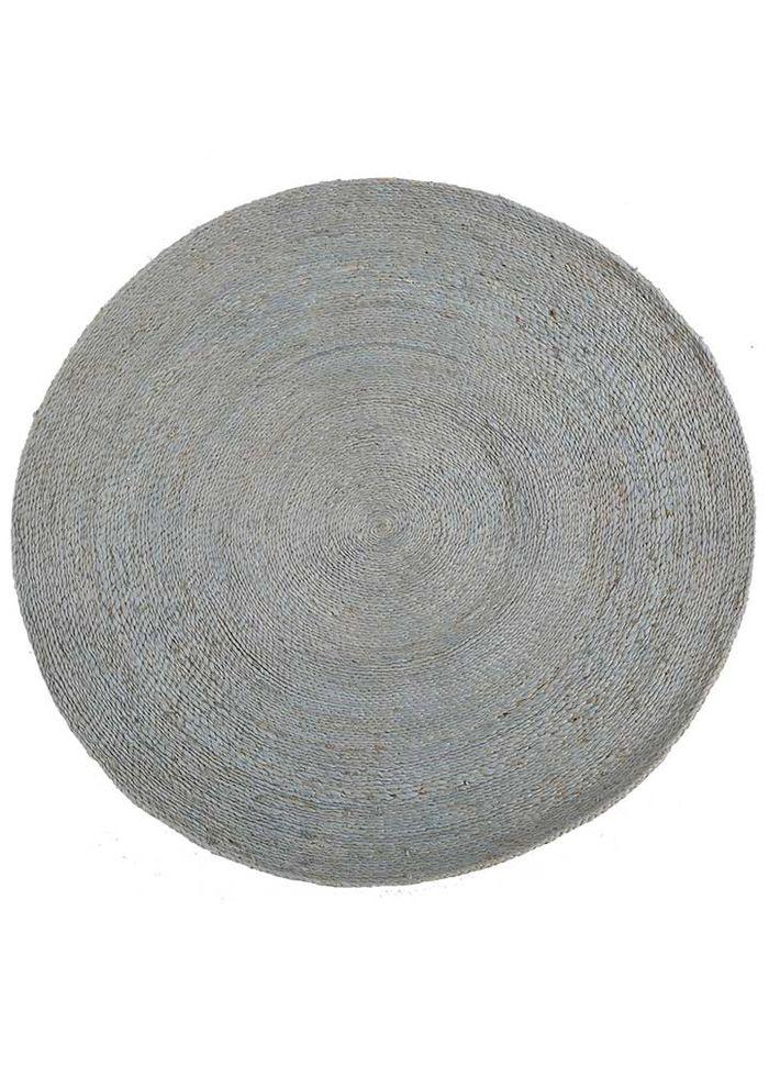 anatolia grey and black jute and hemp flat weaves Rug - HeadShot