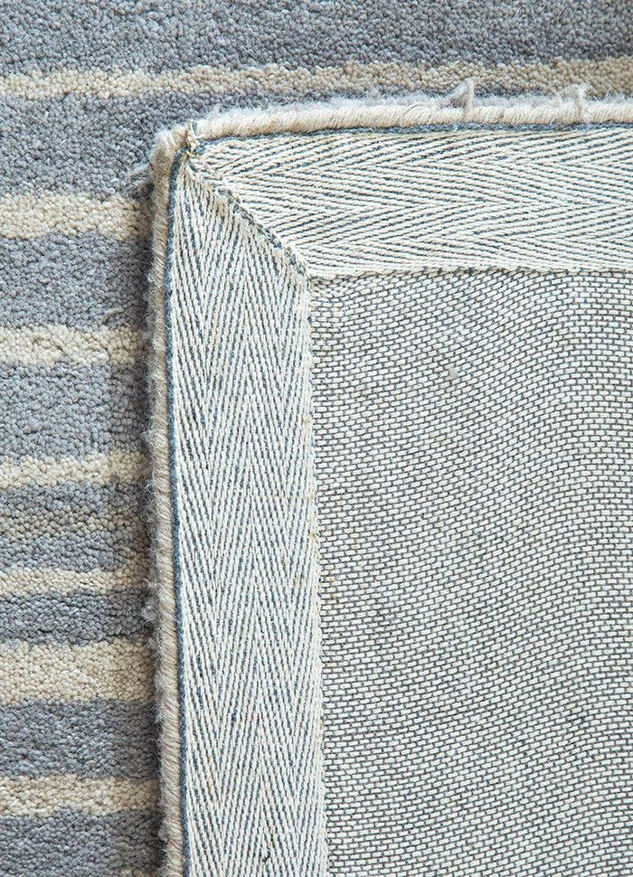shudd multi wool hand tufted Rug - Perspective