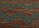 aqua green jute and hemp flat weaves Rug - CloseUp