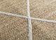 anatolia beige and brown jute and hemp flat weaves Rug - CloseUp