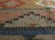 bedouin grey and black jute and hemp flat weaves Rug - CloseUp