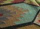 bedouin gold jute and hemp flat weaves Rug - CloseUp