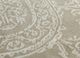 azalea beige and brown wool and bamboo silk hand knotted Rug - CloseUp