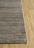 shudd beige and brown cotton hand tufted Rug - Corner
