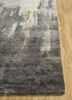 genesis ivory wool and viscose hand tufted Rug - Corner