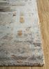 genesis grey and black wool and viscose hand tufted Rug - Corner
