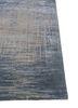uvenuti grey and black wool and bamboo silk hand knotted Rug - Corner
