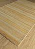 shudd gold cotton hand tufted Rug - FloorShot