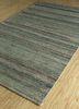 shudd green cotton hand tufted Rug - FloorShot