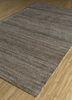 shudd beige and brown cotton hand tufted Rug - FloorShot